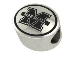 Marshall Thundering Herd Original Collegiate Bead Fits Beaded Charm Brac... - £36.90 GBP