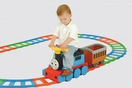 Thomas & Friends battery operated ride on train and track set childs toy... - $185.55
