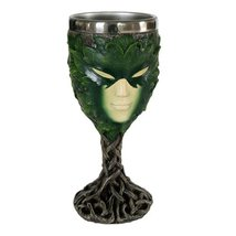 Greenlady Wine Goblet Collectible Figurine - $19.30