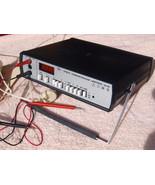 Vintage Soviet Russian USSR VFD Display Digital Multimeter Щ4300 1991 - $128.69