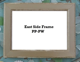 FRAME East Side Frames (PP-PW) 5x7 for To The Beach Series Hands On Design - $18.00
