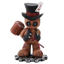 4.5 Inches Pinhead Monster Mallet Max Tuxedo Hat with Hammer Doll - $13.85