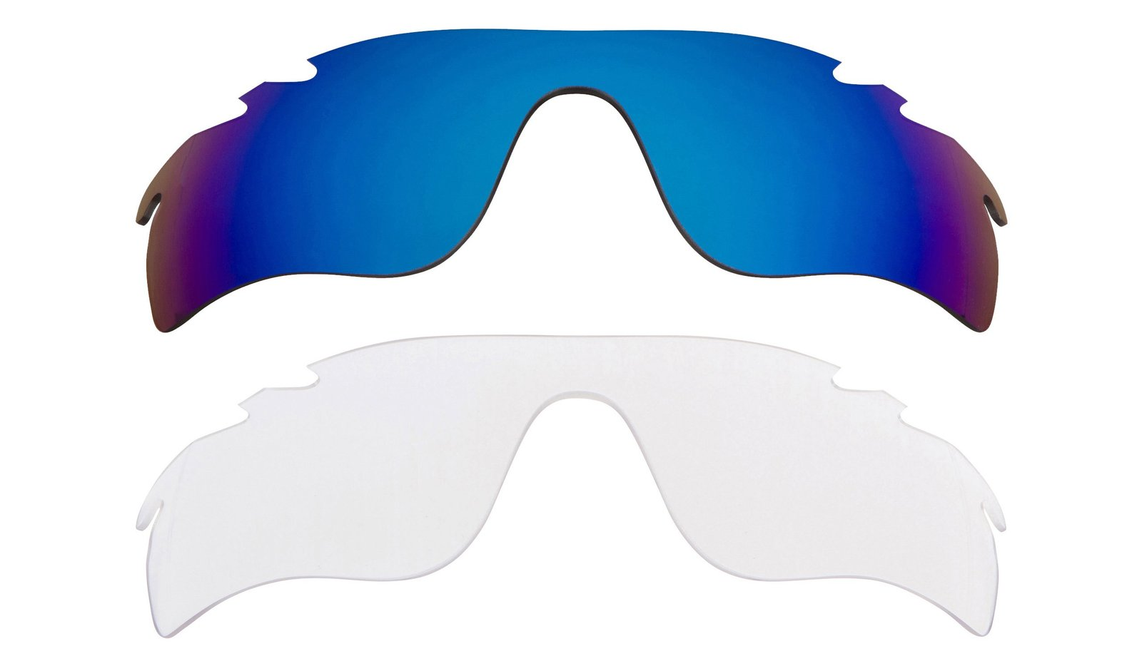 Primary image for New Replacement Lens Oakley VENTED RADAR LOCK - Clear Blue