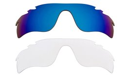 New Replacement Lens Oakley Vented Radar Lock   Clear Blue - $32.48