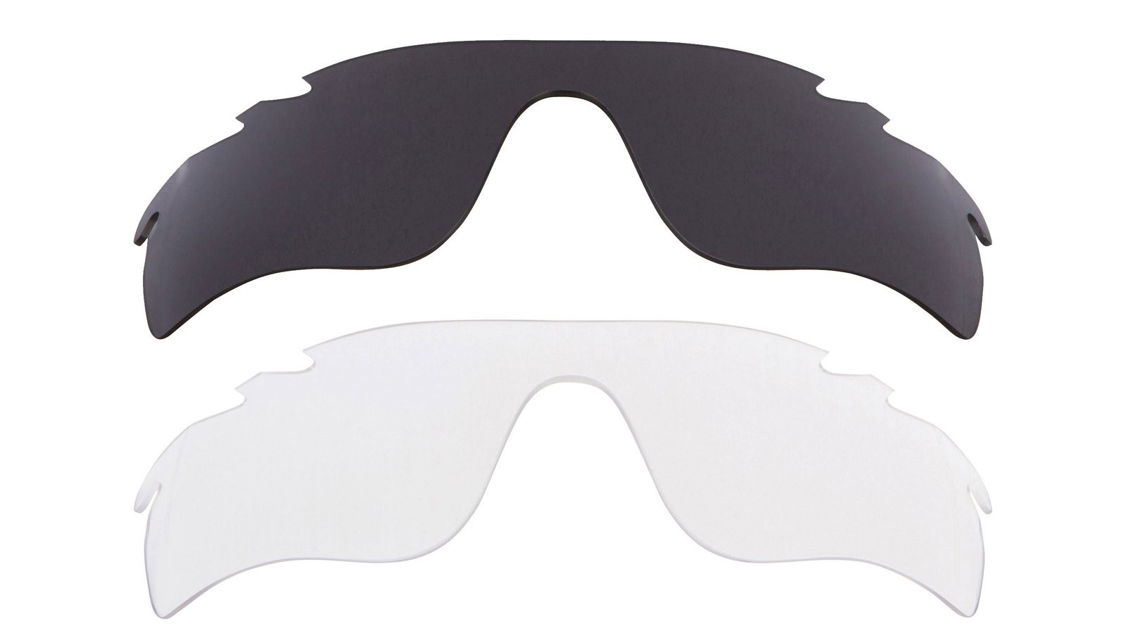 Primary image for New Replacement Lens Oakley VENTED RADAR LOCK - Clear Grey