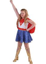 Girls - Red / White / Blue  Wonder / Super Girl , Superhero Costume   - $35.51