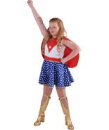 Girls - Red / White / Blue  Wonder / Super Girl , Superhero Costume   - $34.99