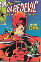 Daredevil Comic Book #53 Marvel Comics 1969 FINE+ - $24.11