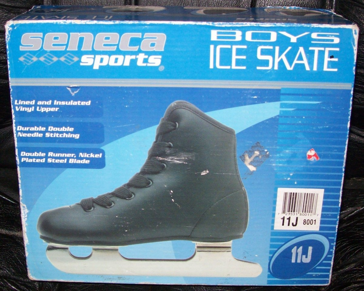 Seneca Sports Boys Double Runner Ice Skates Size 11J