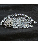 15FT DIY Antque Style Chain Crystal Silver Chandelier Part Wedding - $15.07