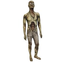 Zombie Kids Monster Morphsuit Fancy Dress Costume - size Small 31-36 (94... - $40.51