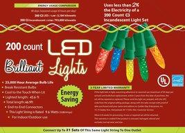 Morris Costumes Holiday Lights 200l c3 Multi - $38.92