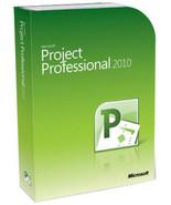 Microsoft Project 2010 Professional 32/64 Bit Prodcut Key Code - $20.00