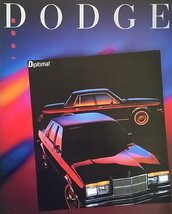1989 Dodge DIPLOMAT sales brochure catalog US 89 - $8.00