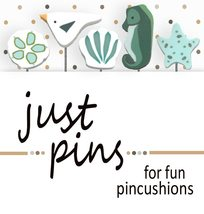 Tidepool Just Pins JP208 set 5 for pincushions JABC Just Another Button Co - $13.95