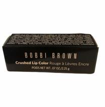 Bobbi Brown Crushed Lip Color Lipstick RUBY .07 oz/2.25 g Travel Size NEW NIB - $10.44