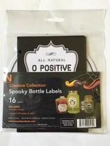 Spooky Bottle Labels Halloween Decor 16 Labels Sticker Labels - €6,71 EUR