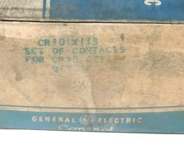 NEW GENERAL ELECTRIC CR101X113 CONTACT KIT image 3