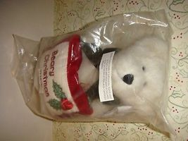 Boyds Bears Gladys Tidings With Beary Christmas Pillow image 3