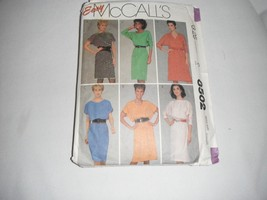 mccalls pattern 8502 misses dresses size small ... - $2.99