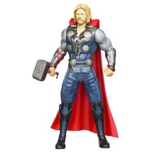 Marvel The Avengers Mighty Battlers Hammer Slinging Thor Figure - $10.06