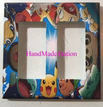 Pokemon Pikachu Friends Light Switch power Outlet Wall Cover Plate Home Decor image 4