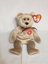 Ty Beanie Babies 1999 Signature Bear - Vintage Collectible - Great Condition - $12.91