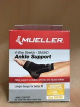 Mueller 4-Way Stretch Ankle Support- Small/Medium  (101A) - $8.90