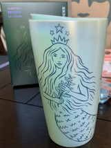 Starbucks Mermaid Siren Ceramic Hot Cup - 50th Anniversary Limited Editi... - $49.99