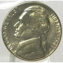 1981-D Jefferson Nickel BU In the Cello #0572 - $2.39