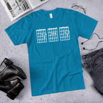 IMens Guitar Chord Shirt Dad / dad best ever t-shirt / made in USA / T-Shirt image 5