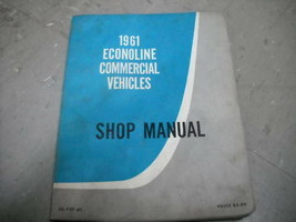 1961 ford econoline commercial vehicles service repair shop manual oem worn - $39.72