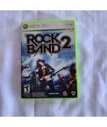 Rock Band 2 (Microsoft Xbox 360, 2008) - $4.70