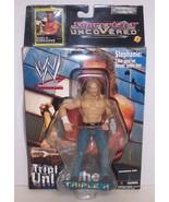 "New! 2002 Jakk's Superstars uncoVered ""Triple H"" Action Figure WWF WWE [... - $29.69"
