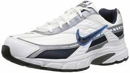 Nike Men's Initiator Running Shoe 10 White/Obsidian/Metallic Cool Grey - $99.00