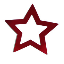 Frame Star Cutouts Plastic Shapes Confetti Die Cut FREE SHIPPING - $6.99