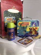Hallmark Keepsake Scooby-Doo Lunch Box Thermos Ornaments Set 1999 Myster... - $12.85