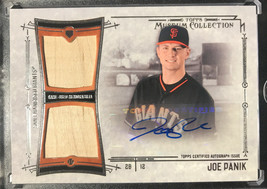 2015 Topps Museum Collection Game Used Relic Auto Joe Panik 176/189 B12 - $14.52