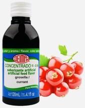 Grosella Currant Deiman Sabor Flavor Color Aroma Artificial Concentrate 4.1 Oz - $11.95