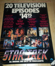 Star Trek 20 Episode Video Release Poster 27x32 - $15.99