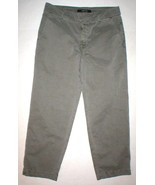 New J Brand Jeans Relaxed Womens Parker Vin Fort 25 Chino Pant Army Gree... - $35.60