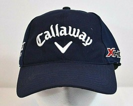 Callaway Golf Baseball Cap Odyssey Hex Black Tour Blue OSFM - $21.35