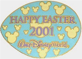 Easter Egg Hunt 2001 Resorts - Blue Wdw Authentic Disney Pin - $19.99