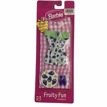 Mattel 1998 Barbie Fruity Fun Fashions Grape Outfit Clothing Clothes New... - $18.53