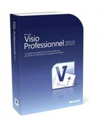 Microsoft Visio Professional 2010 One PC Licens... - $20.00