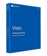 Microsoft Visio Professional 2016  32/64 bit Email Delivery - $20.00