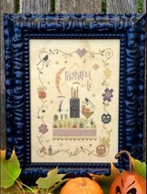 Frightful Be halloween cross stitch kit by Shepherd's Bush     - $60.00