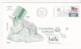 ANIK ONE CANADIAN COMSAT KENNEDY SPACE CENTER, FLORIDA NOVEMBER 9, 1972 - $1.98