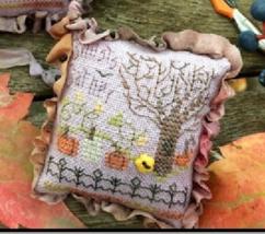Ghosts Gather Scissor Fob cross stitch kit by Shepherd's Bush     - $16.00