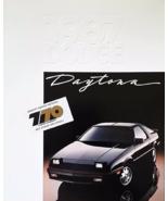 1987 Dodge DAYTONA brochure catalog US 87 Pacifica SHELBY Z - $8.00